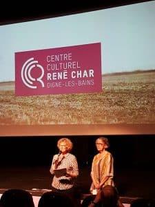 Muriel Yvan et Martine Thieblemont
