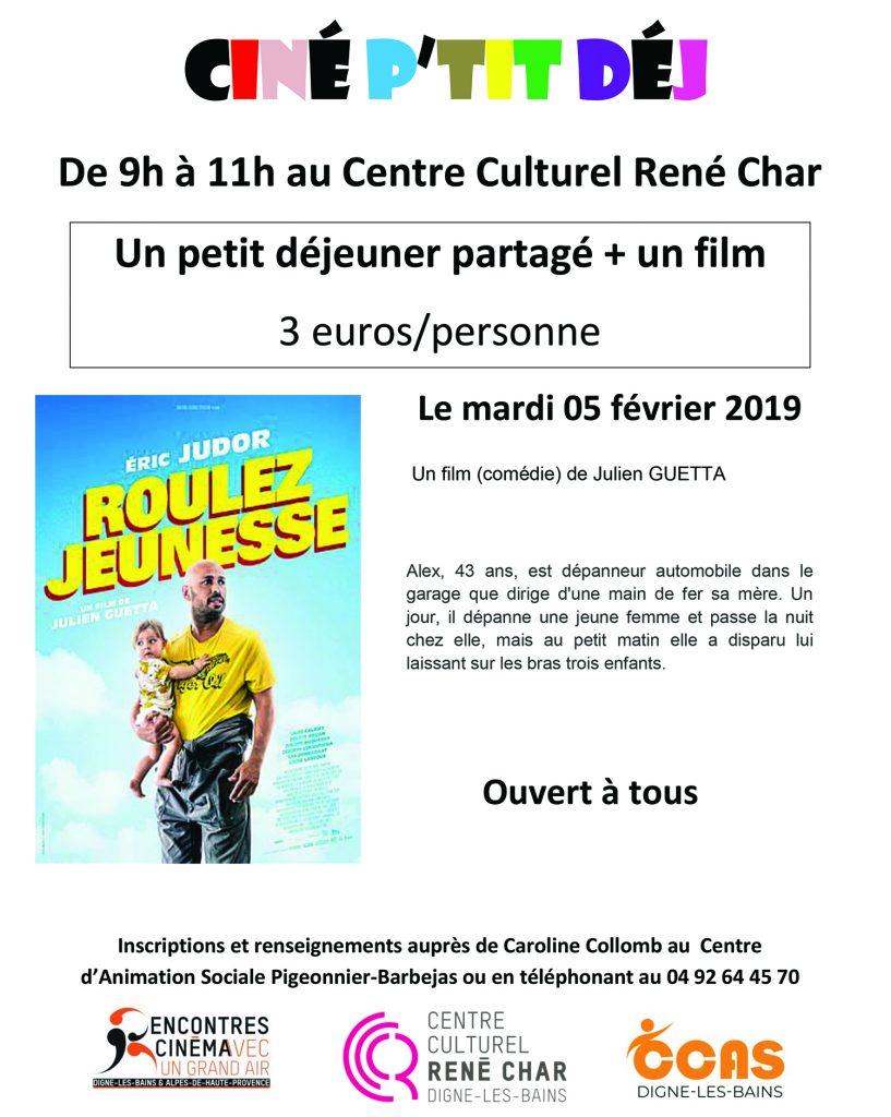 Affiche Ciné P'tit Déj
