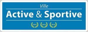 Logo du label Villes actives & sportives