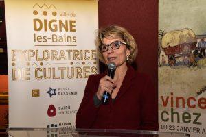 Madame le Maire de Digne
