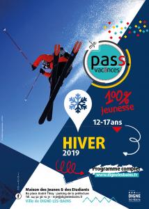 Affiche Pass'Vacances Hiver
