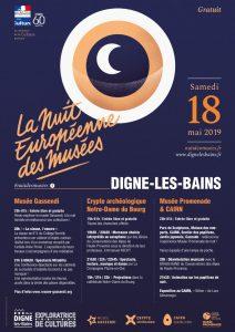 Affiche Nuit Européenne des Musées