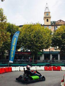 Photo e-karting Digne-les-Bains