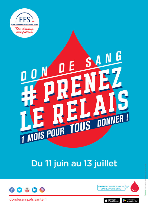 Affiche don du sang