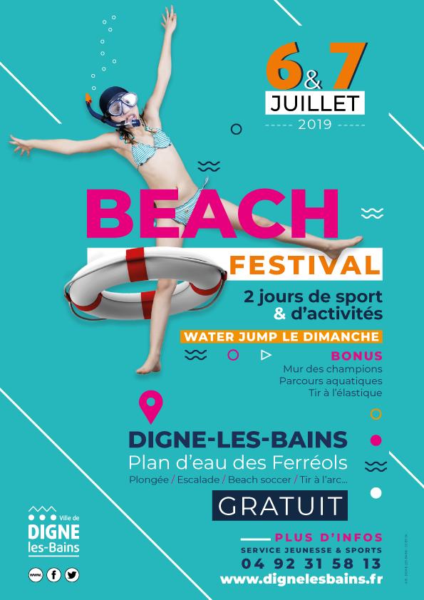 Affiche Beach Festival