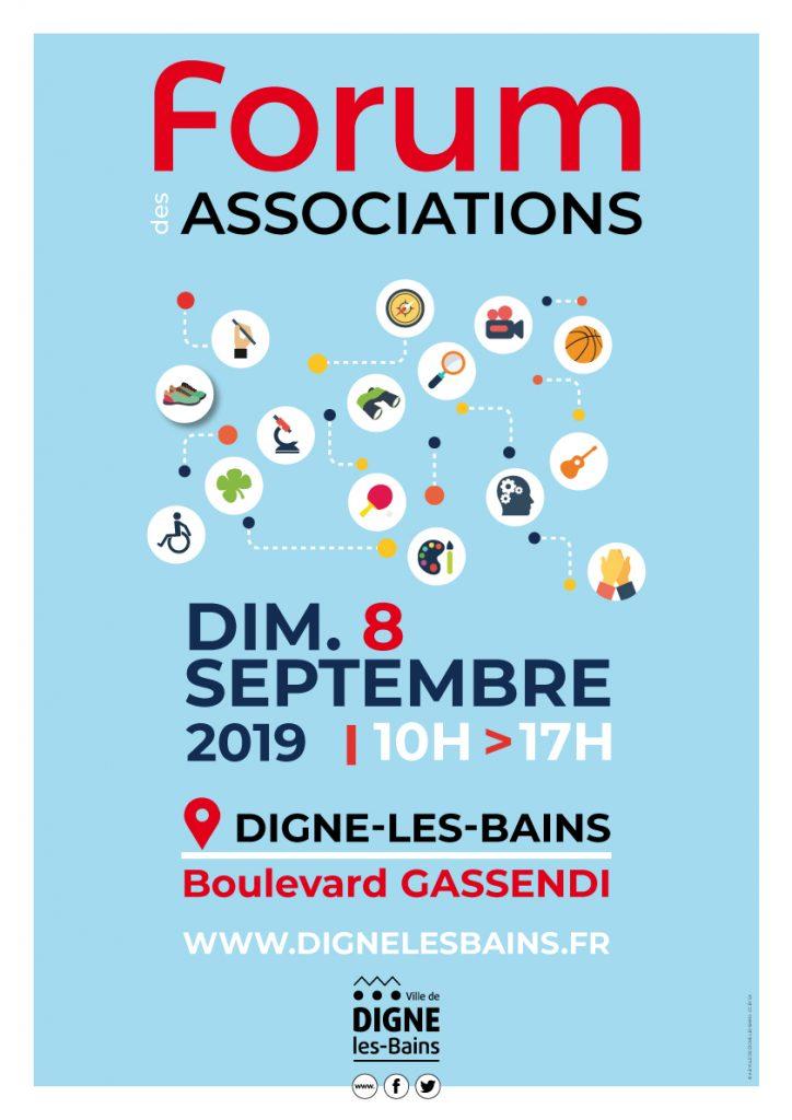 affiche 30e Forum des Associations