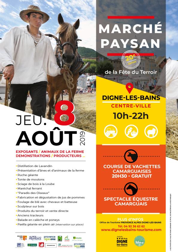 Affiche Marché Paysan
